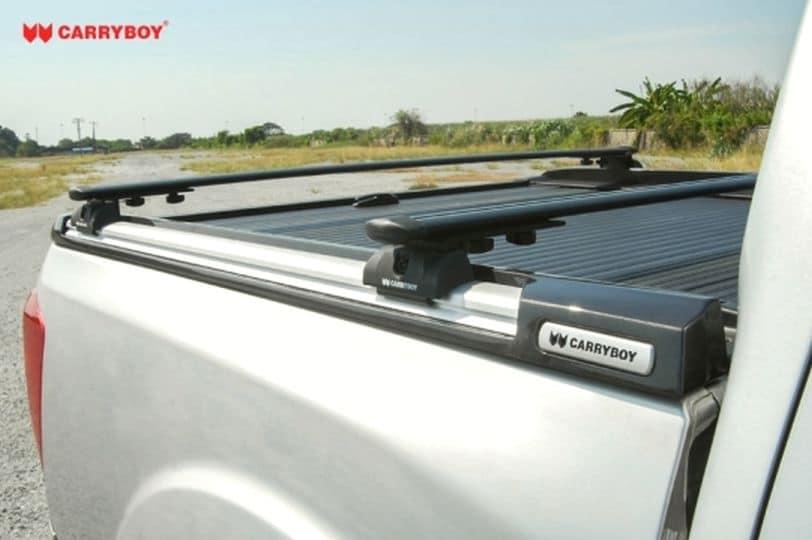 Ford Ranger Doppelkabine Laderaumabdeckung Rollo mit Querträgern 789F, hohe Zuladung