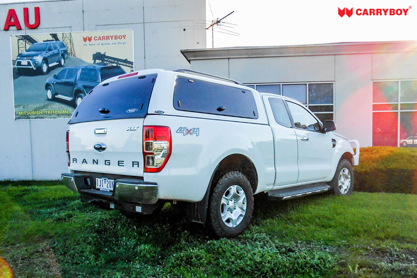 Ford Ranger Extrakabine SON Hardtop mit Klappfenster verschließbar
