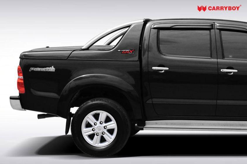 CARRYBOY Pickup Laderaumabdeckung Deckel mit Edelstahlbügel GRX gesicherte Ersatzteilversorgung