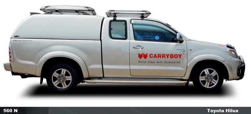 CARRYBOY Hardtop 560oS-TVL Hardtop ohne Seitenfenster