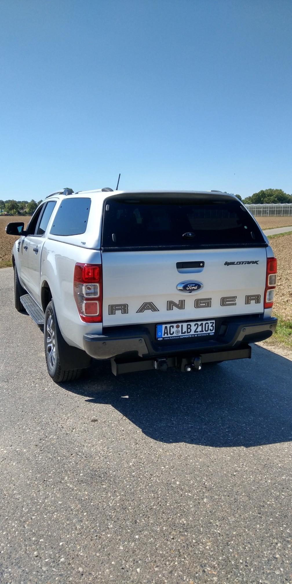 CARRYBOY Hardtop mit Ausstellfenstern getönt für Ford Ranger DC