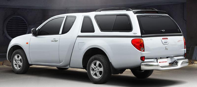 CARRYBOY Hardtop 560-MNC Mitsubishi L200 Extrakabine Zubehör 2016+ extrem stabil und belastbar gesicherte Ersatzteilversorgung vom Weltmarktführer