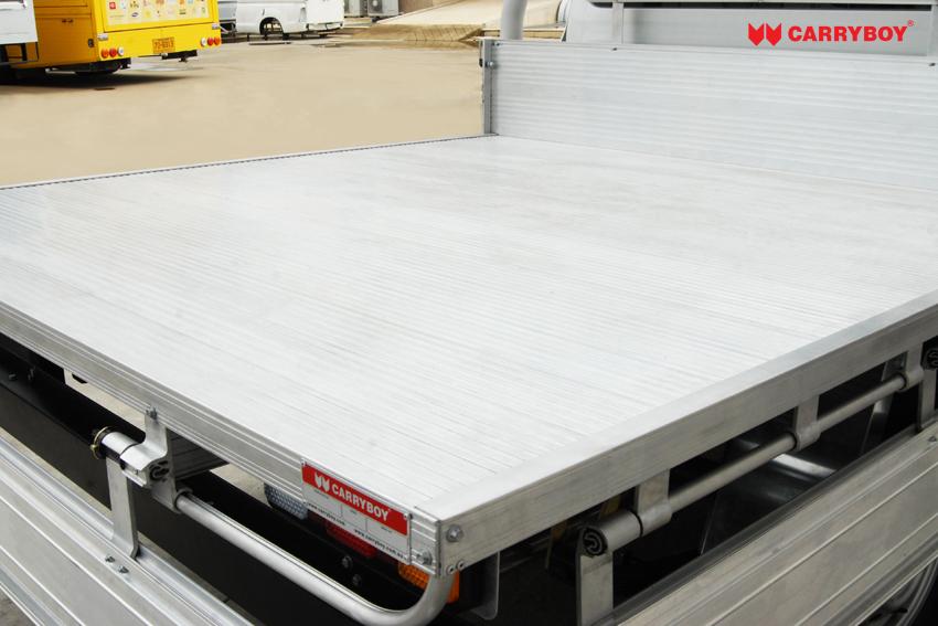 CARRYBOY Pickup Ladeflächenumbau  Aluminium Ladefläche ultraleicht mehr Zuladung Doppelkabine Pickup