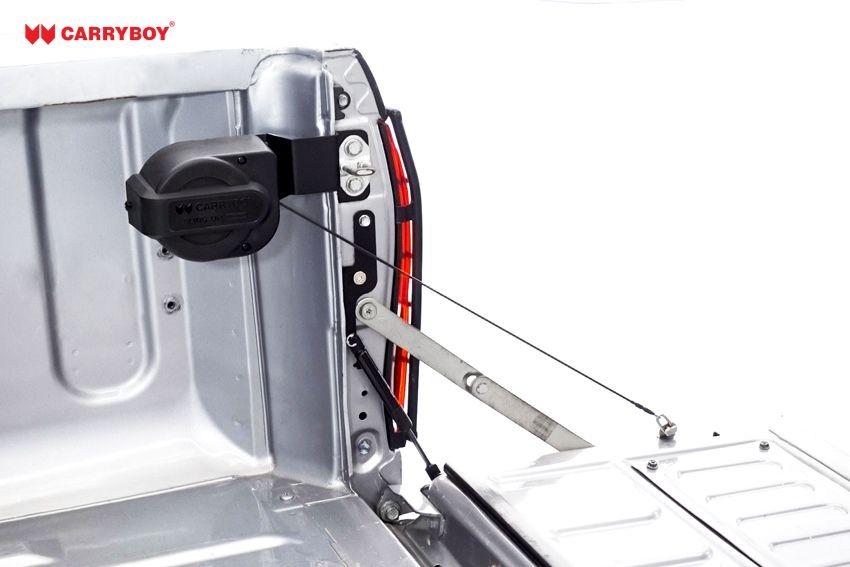 CARRYBOY Pickup Heckklappendämpfer Unterstützung Hilfe CB-105-TR Toyota Hilux platzsparender Einbau