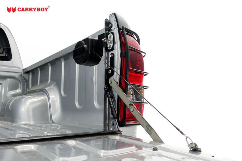 CARRYBOY Pickup Heckklappendämpfer Unterstützung Hilfe CB-105-FT Ford Ranger Heckklappenfeder