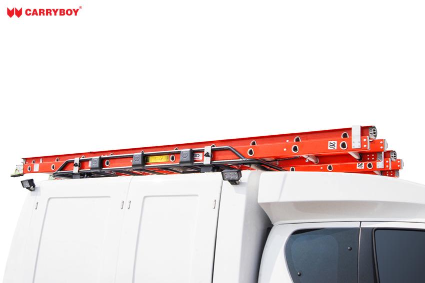 CARRYBOY Dachlastträger für Hardtop oder Kofferaufbau große Ladekapazität Einzelkabine