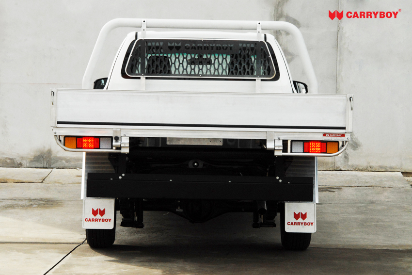 Carryboy Fahrgestellaufbau Aluminium Tray Modell CB-790-02 Singlecab Pickup Erhöhung Zuladung