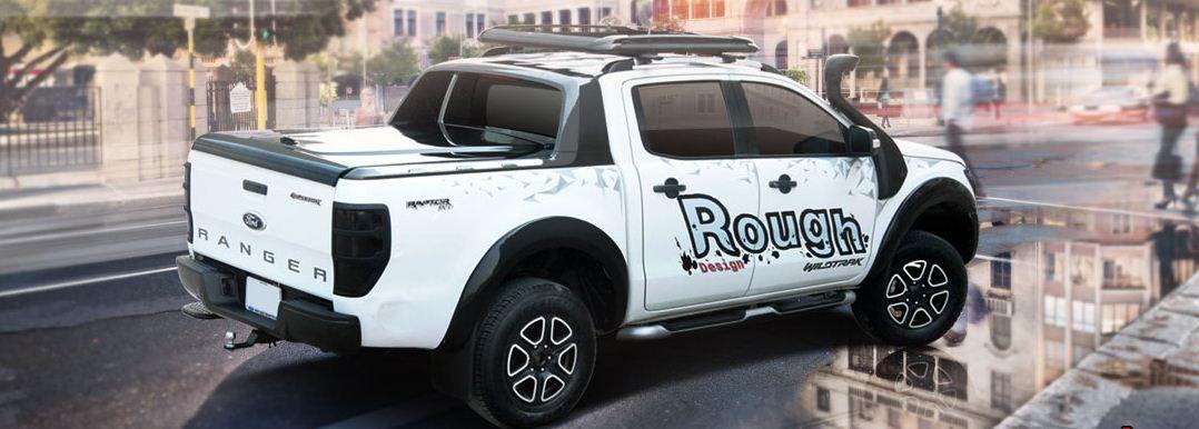 CARRYBOY GFK Deckel in Wagenfarbe lackiert Ford Ranger Doppelkabine Wildtrak Raptor