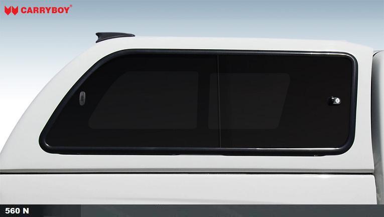CARRYBOY Hardtop 560 mit seitlichen Schiebefenstern für Mercedes X-Klasse X250 X350 getönte Fenster