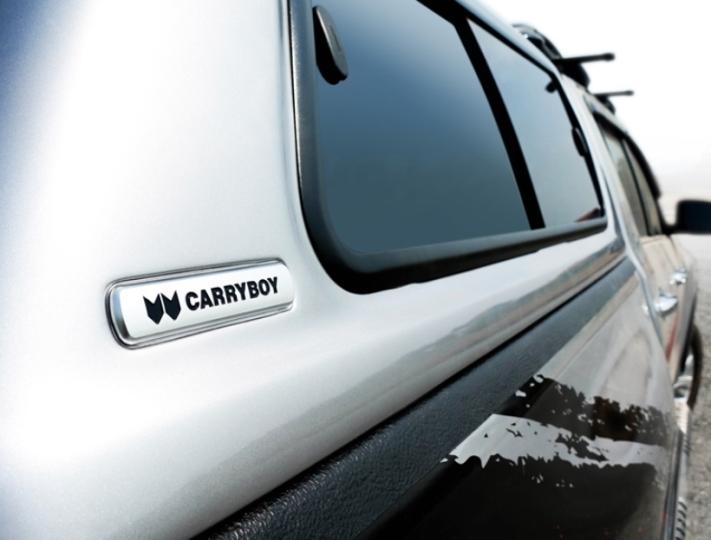 Carryboy Hardtop mit Schiebefenster SR5-IGD