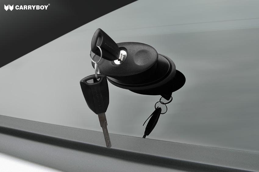 CARRYBOY Hardtop S6_Heckklappenschloss