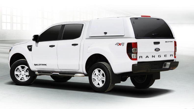 Ford Ranger Doppelkabine Hardtop WM-FTD von CARRYBOY Lackierung in Wagenfarbe