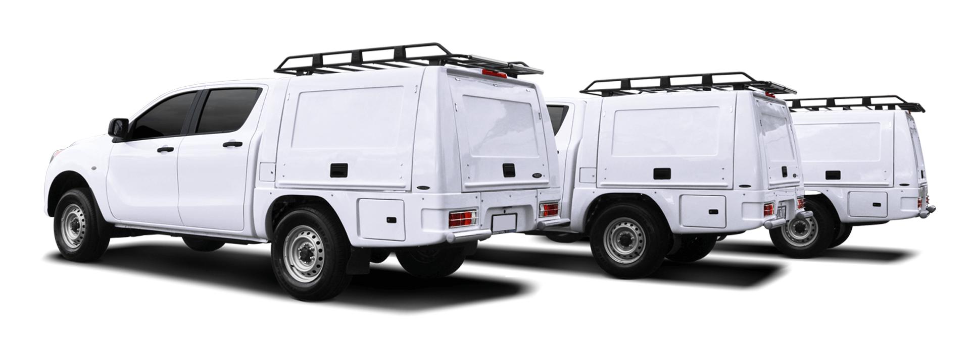 CARRYBOY Pickup Kofferaufbauten Ladefläche oder geschlossen