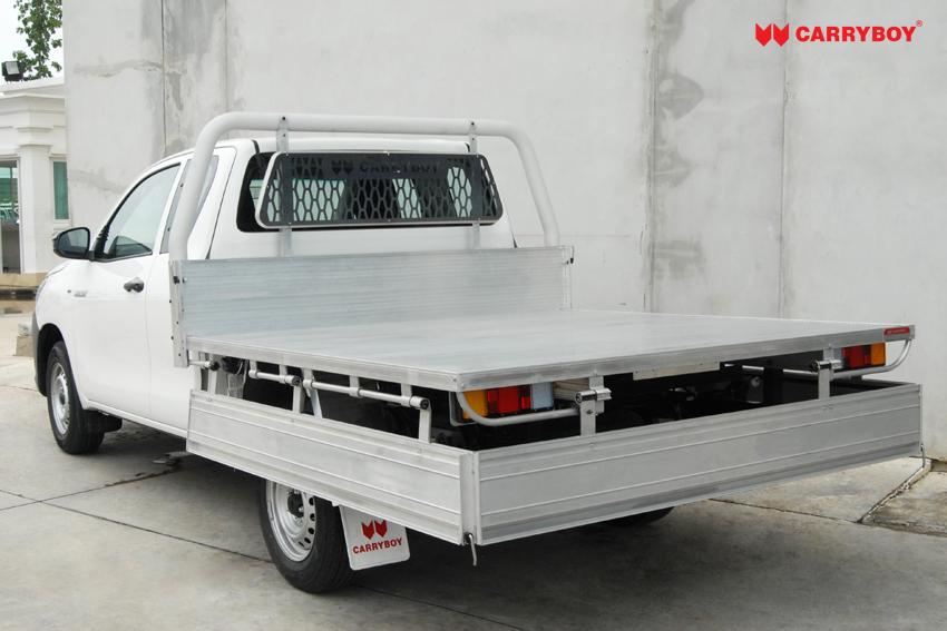 Carryboy Fahrgestellaufbau Extrakabine Pickup Klappbare Bordwand