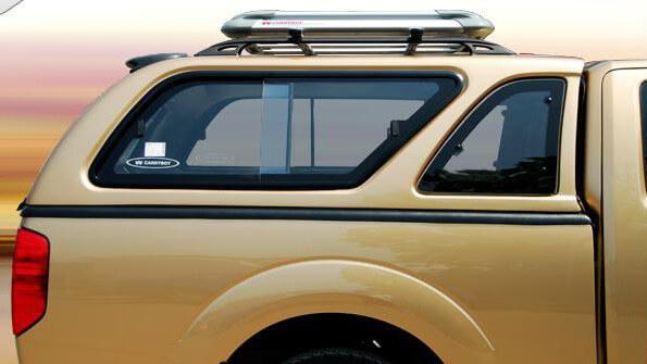 CARRYBOY Hardtop mit Schiebefenster Mitsubishi L200 Einzelkabine 2005-2015 Lackierung in Wagenfarbe