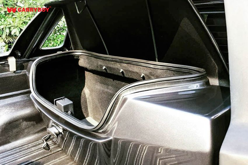 CARRYBOY Transportbox Staubox für Pickup Ladefläche Standardmaß CB-704  sicher abschießbar