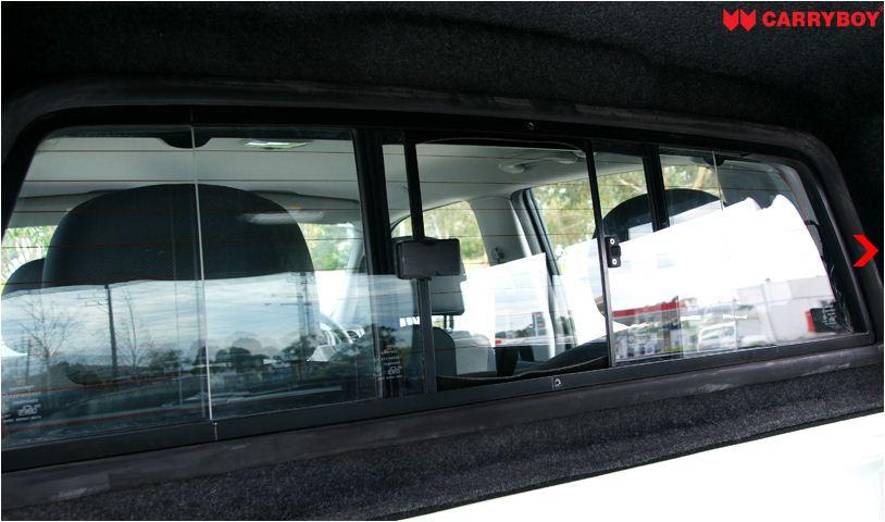 CARRYBOY Pickup Hardtop Frontschiebefenster_Allgemein