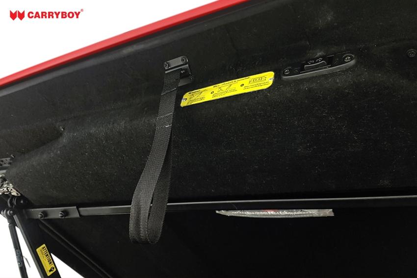 CARRYBOY Laderaumabdeckung mit Motorhub - SMX2-FTD