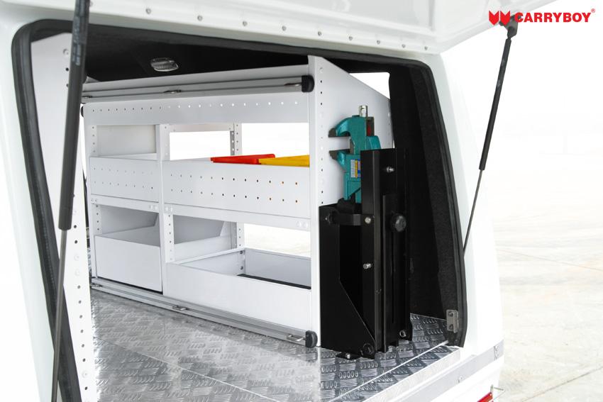 CARRYBOY Fahrgestellaufbau Kofferaufbau für Ford Ranger Singlecab großzügiges Platzangebot