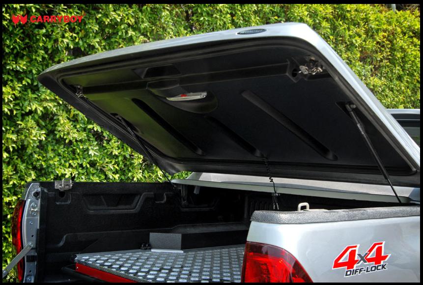 Carryboy Fullbox Deckel 762-TRD für Toyota Hilux Doppelkabine - Ladeflächenschutz