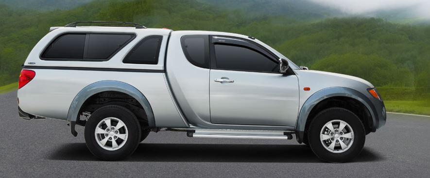 CARRYBOY 560-MNCF Fiat Fullback Clubcab Hardtop mit Schiebefenster qualität und design
