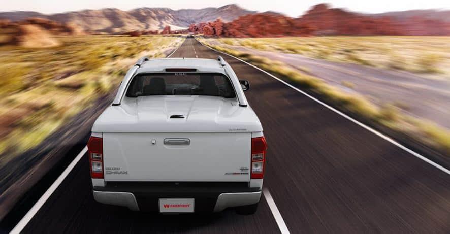 CARRYOY Laderaumabdeckung GRX-TRD für Toyota Hilux Doppelkabine - Treibstoffersparnis