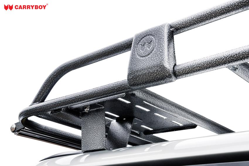 CARRYBOY Dachlastträger für Hardtop oder Kofferaufbau Dachträger einfacher Aufbau mit passenden Haltern