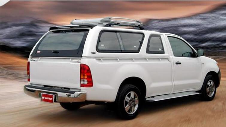 Carryboy Hardtop Modell 560-FL für Ford Ranger Einzelkabine mit Schiebefenster