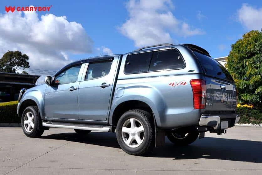 CARRYBOY Hardtop 560-IMD Isuzu D-Max Doppelkabine 2002-2011 GFK Hardtop mit Fenster