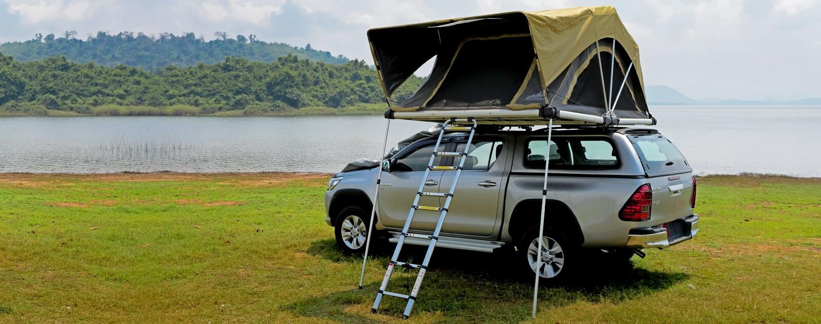 CARRYBOY NOVISauto Dachzelt für Pickup und PKW