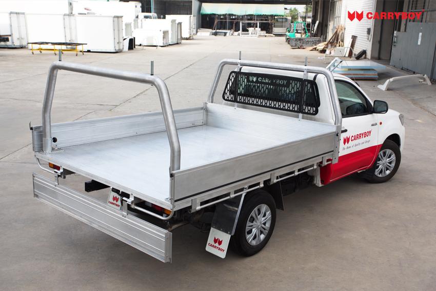 Carryboy FahrgestellaufbauSinglecab Pickup praktische Verzurrösen rundum