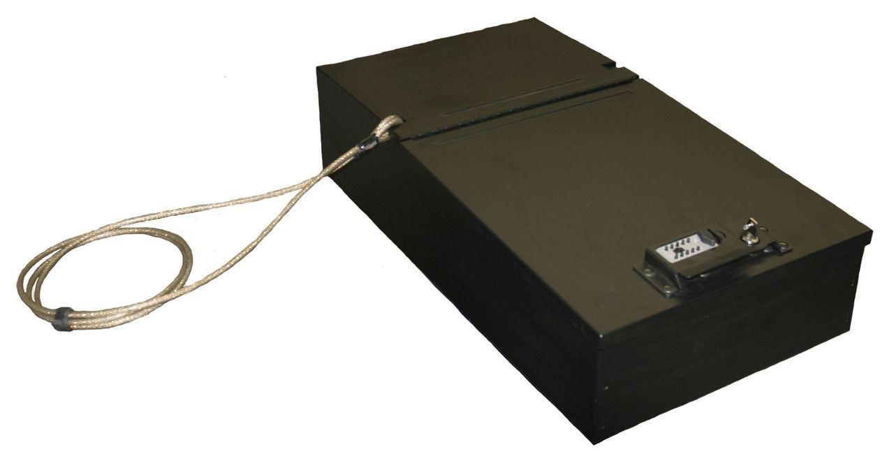 NOVISauto Kofferraum Sicherheitsbox Gewehrbox und Waffentresor einfacher Einbau 253