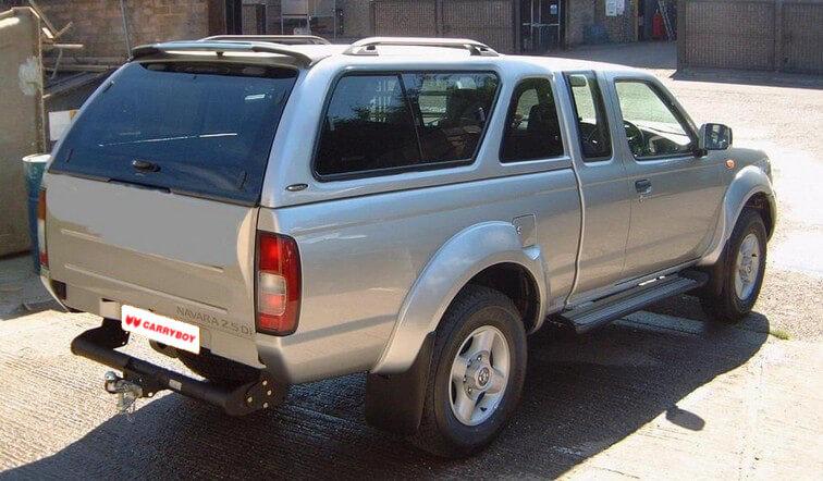 CARRYBOY Hardtop Nissan Navara D40 Kingcab_Extrakabine  seitliche Schiebefenster