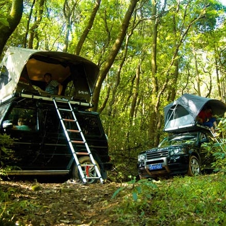 NOVISauto CARRYBOY SUV Dachzelt Pathfinder I mit Softplane Ripstop viel Licht hell