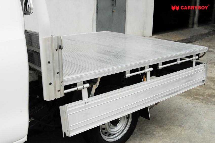 Carryboy Fahrgestellaufbau Aluminium Tray Modell CB-790-00