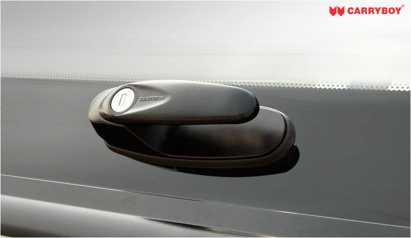 Carryboy Hardtop Ford Ranger Extrakabine geschlossene Seiten sicher abschließbar