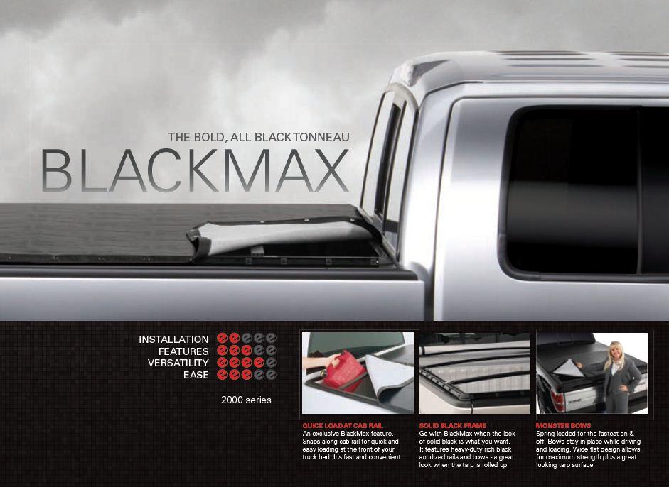 NOVISauto Laderaumabdeckung Plane zum Rollen BLACKMAX - IC12