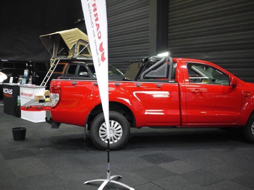 "NOVISauto Überrollbügel ""Sportbügel 2.0"" Black Edition - ohne Motoreinheit - RAM Classic / Ford F150 u.a."