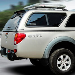 CARRYBOY Hardtop mit Schiebefenster Mitsubishi L200 Einzelkabine 2005-2015