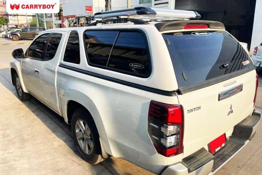 CARRYBOY Hardtop mit Schiebefenster 560-MNC Mitsubishi L200 Clubcab 2016+ Zentralverriegelung optional
