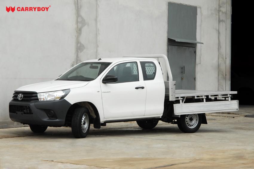 Carryboy FahrgestellaufbauE Extrakabine Pickup belastbar Erhöhung Zuladung