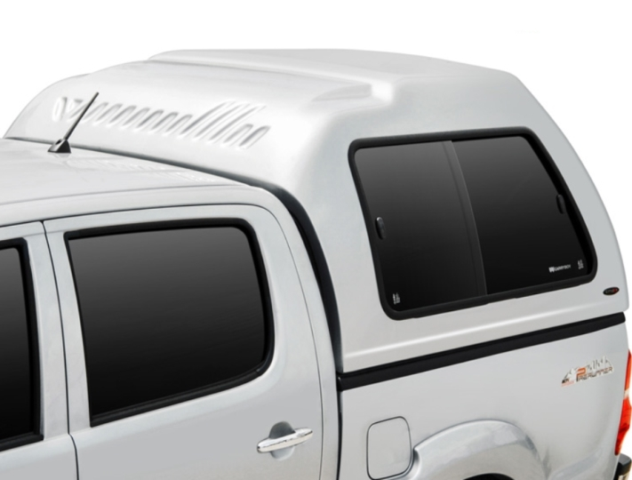 Ford Ranger Doppelkabine Carryboy Hardtop in Überhöhe 840-FTD mit Schiebefenster