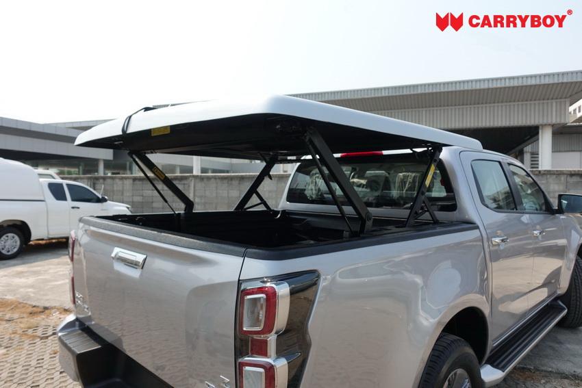 CARRYBOY Laderaumabdeckung SMX mit Motorhub sicher abschließbar
