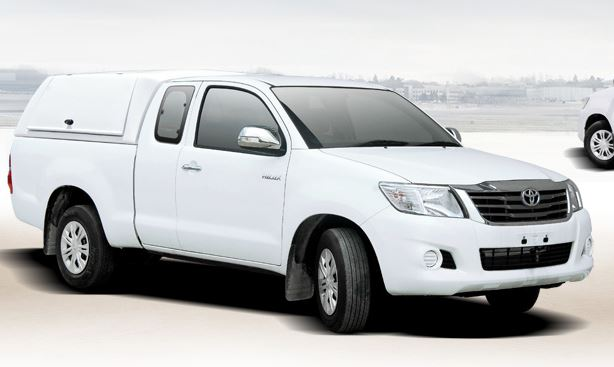CARRYBOY Hardtop Workman für Toyota Hilux 1,5-Kabine