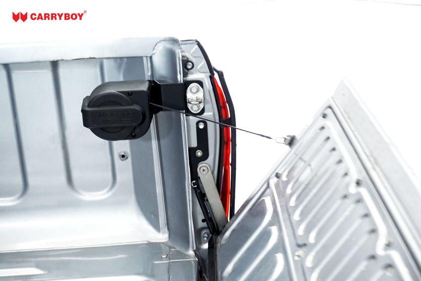 CARRYBOY Pickup Heckklappendämpfer Unterstützung Hilfe CB-105-IR Isuzu D-Max 12-20 unterstützt beim Öffnen und Schließen der Heckklappe