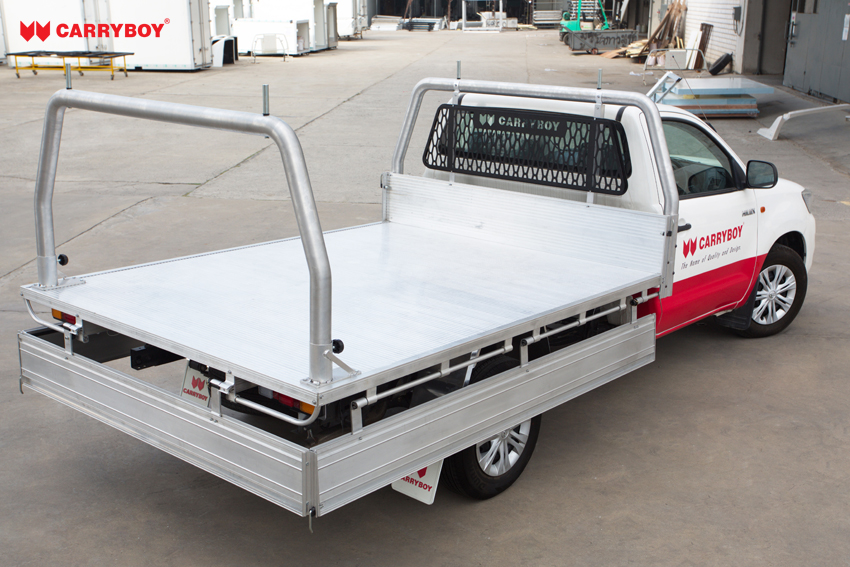 Carryboy Fahrgestellaufbau Singlecab Pickup inklusive Ladungssicherung Verzurrstellen
