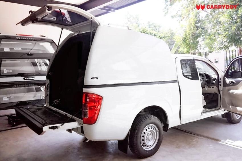 CARRYBOY Hardtop 840oS für Ford Ranger Singlecab ohne Fenster über Kabinenhöhe hohes Hardtop extra Ladehöhe 840mm