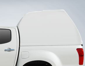 CARRYBOY Hardtop mit geschlossenen Seiten Überhöhe 840os-IRD Doppelkabine 2012-2016 maximales Stauvolumen