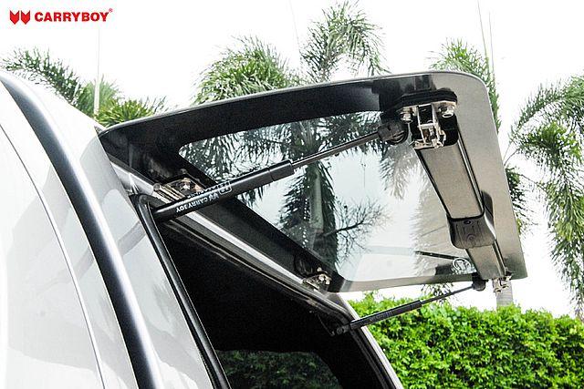CARRYBOY Hardtop SO-VWAD VW Amarok Doppelkabine offene Seitenklappe Vollglas