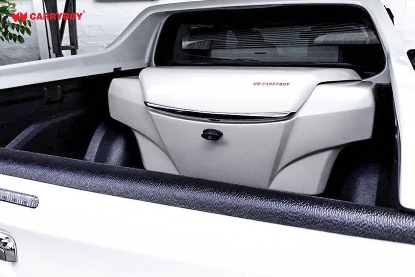 CARRYBOY Transportbox Staubox für Pickup Ladefläche Standardmaß CB-704  hochwertige Lackierung